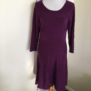 Worthington Knit Dress long sleeve large